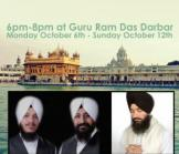 ATAM RAS KEERTAN 2014- October 6th to October 12th