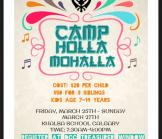 March Kids Camp-Theme Holla Mahalla March 25-March 27
