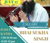Bhai Sukha Singh - Calgary Tour 2016