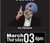 Harvinder Singh Phoolka-Fighting for Justice
