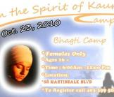In the Spirit of Kaurs Camp - Bhagti Camp