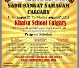Annual Sadh Sangat Samagam Calgary