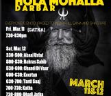 Holla Mahalla Darbar-March 11 and March 12